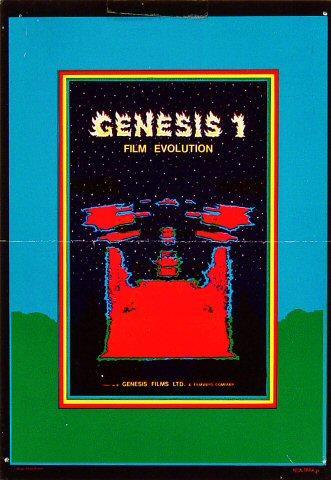 Genesis 1: Film Evolution Handbill