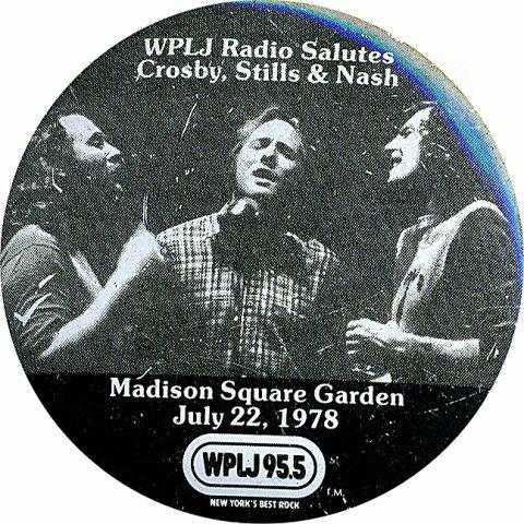 Crosby, Stills & Nash Pin