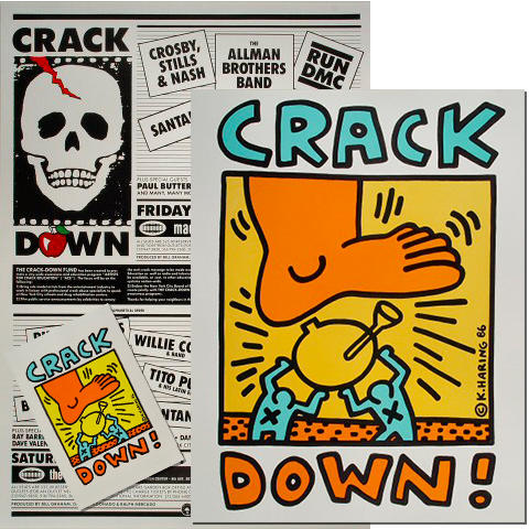 Crack Down Benefit Poster/Program Bundle