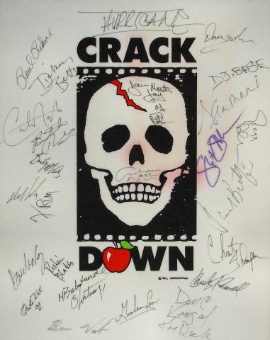 Crack Down Benefit Pellon