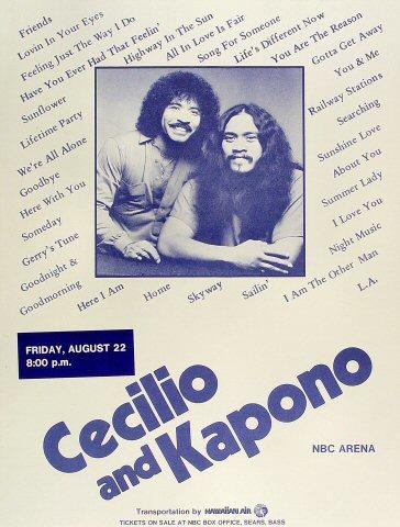 Cecilio and Kapono Poster