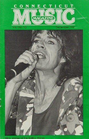 Connecticut Music Magazine December 1, 1981