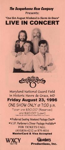 The Oak Ridge Boys Handbill