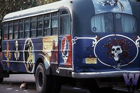 Tour Bus Fine Art Print