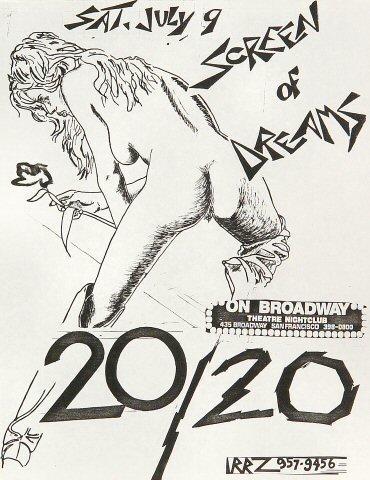 Screen of Dreams Handbill