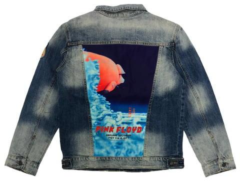 Pink Floyd Men's Denim Jacket