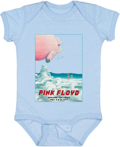 Pink Floyd Vintage Tour Infant Onesie
