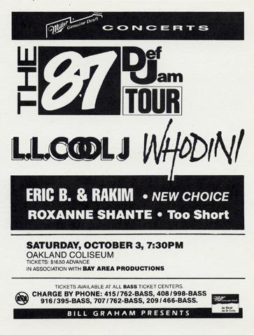LL Cool J Handbill