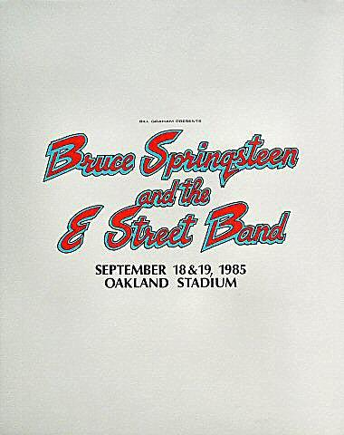Bruce Springsteen & the E Street Band Pellon