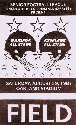 Raiders-Steelers Laminate