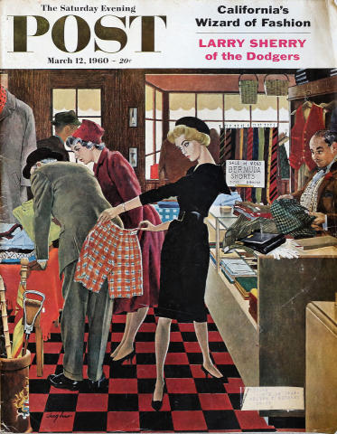 The Saturday Evening Post March 12, 1960