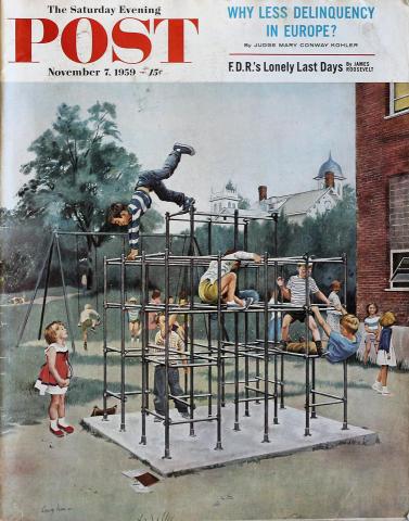 The Saturday Evening Post November 7, 1959