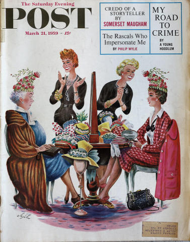 The Saturday Evening Post March 21, 1959