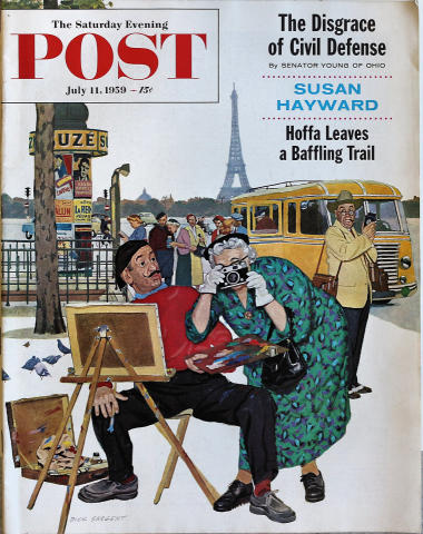 The Saturday Evening Post July 11, 1959