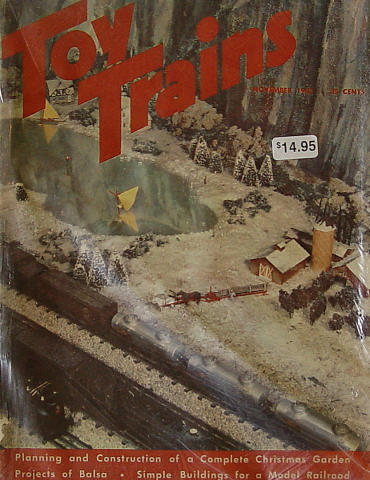 Toy Trains November 1952
