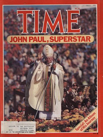 Time Magazine October 15, 1979