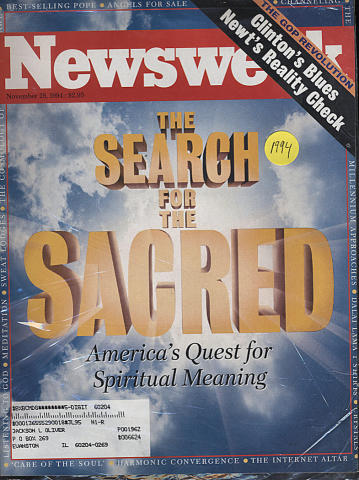Newsweek Magazine November 28, 1994