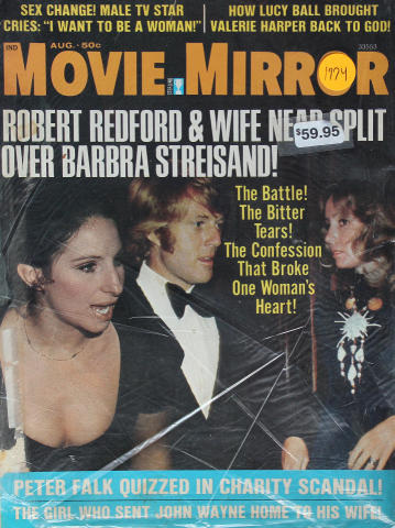 Movie Mirror Magazine August 1974