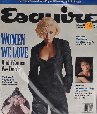 Esquire August 1, 1989