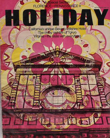 Holiday Magazine September 1969