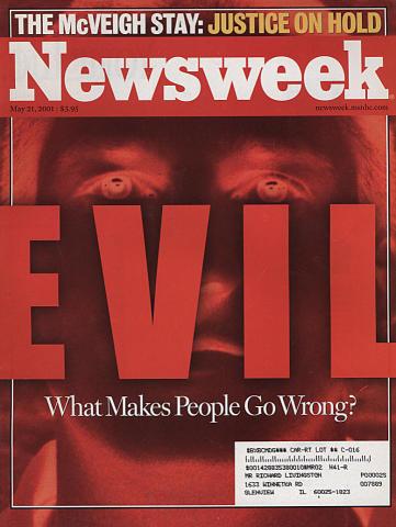 Newsweek Magazine May 21, 2001
