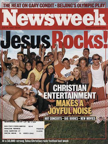 Newsweek Magazine July 16, 2001