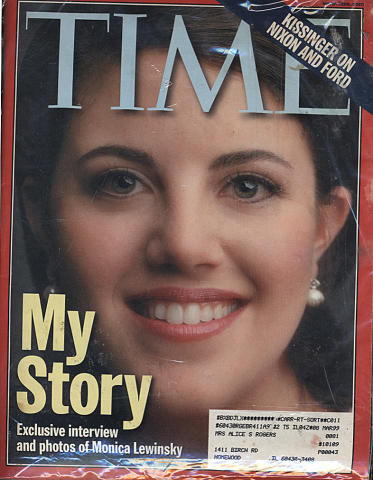 Time Magazine March 15, 1999