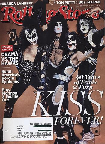 Rolling Stone Magazine April 10, 2014