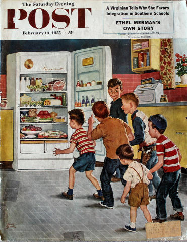 The Saturday Evening Post February 19, 1955