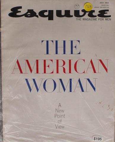 Esquire July 1, 1962