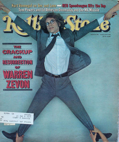 Rolling Stone Magazine March 19, 1981