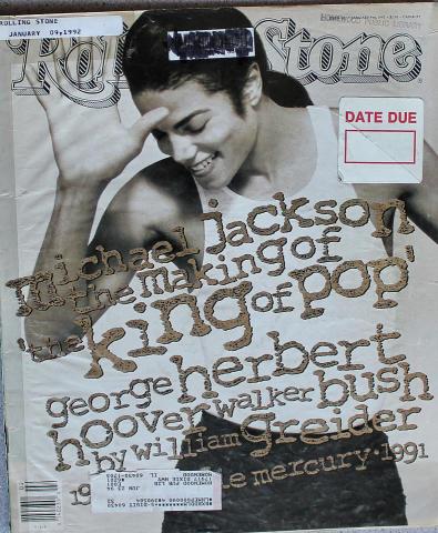 Rolling Stone Magazine January 9, 1992