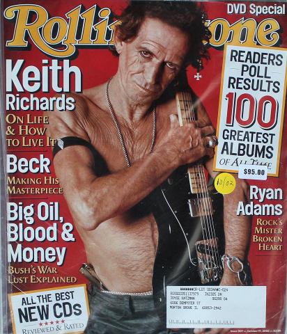 Rolling Stone Magazine October 17, 2002