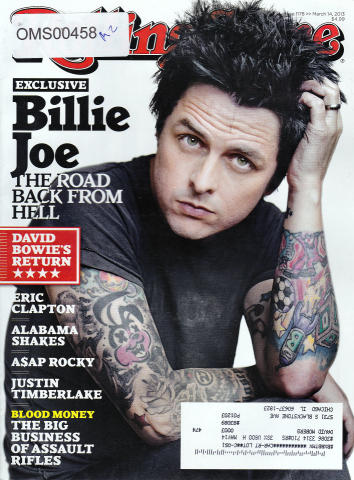 Rolling Stone Magazine March 14, 2013