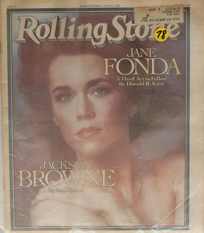 Rolling Stone Magazine March 9, 1978