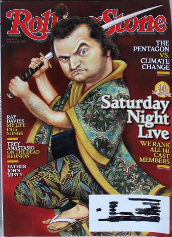 Rolling Stone Magazine February 26, 2015