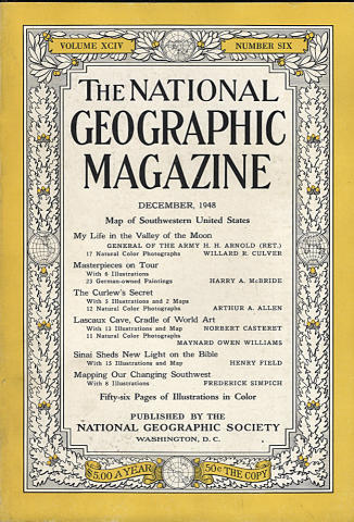 National Geographic December 1948