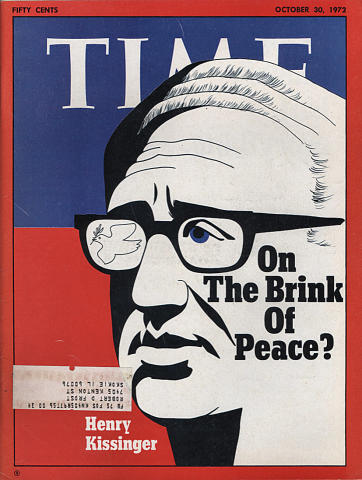 Time Magazine October 30, 1972