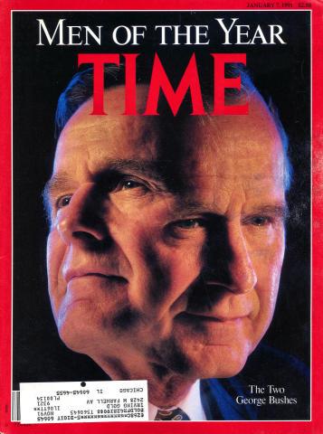 Time Magazine January 7, 1991