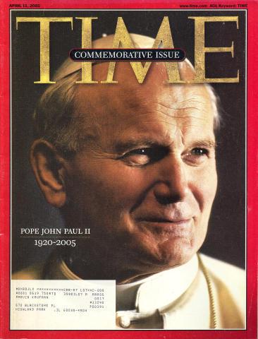 Time Magazine April 11, 2005