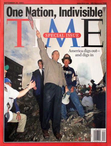 Time Magazine September 24, 2001