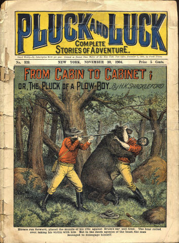 Pluck And Luck Magazine November 30, 1904