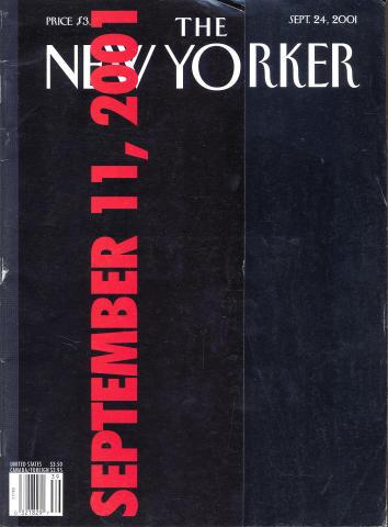The New Yorker September 24, 2001