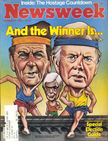Newsweek Magazine November 3, 1980