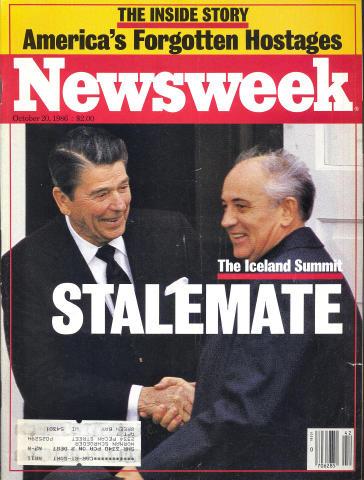Newsweek Magazine October 20, 1986