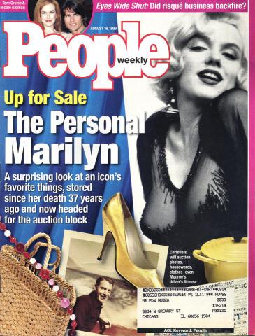 People Magazine August 16, 1999