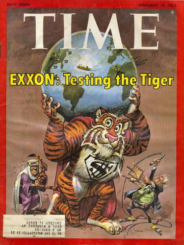 Time Magazine February 18, 1974