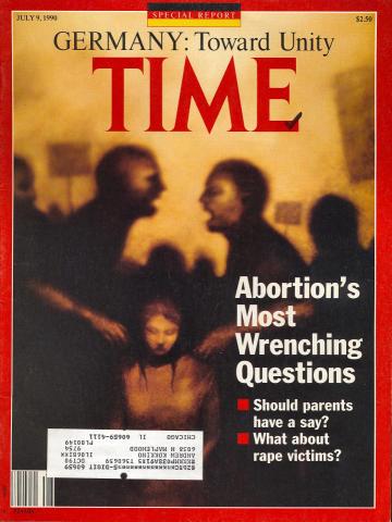Time Magazine July 9, 1990