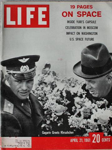 LIFE Magazine April 21, 1961