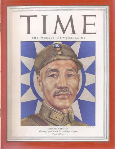 Time Magazine September 3, 1945